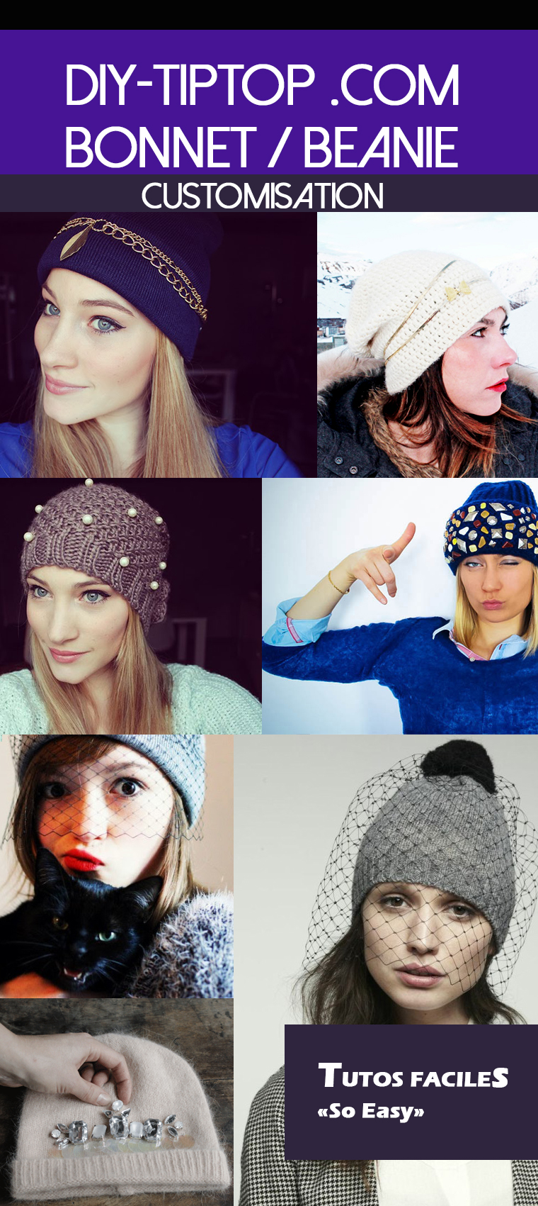 Diy-customisation-de-bonnets-simples-et-faciles